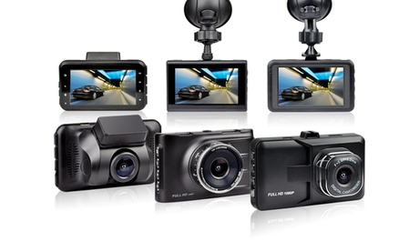 In-Car Full HD Dash Cam Recorder with an Optional 16GB Memory Card