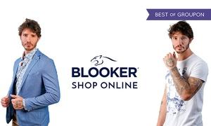 Buono abbigliamento uomo Blooker: Blooker - Buono di 50 € su tutto l'abbigliamento, spedizione gratuita in tutta Italia
