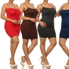 Women's Plus-Size Seamless Cami Dresses (2-Pack)