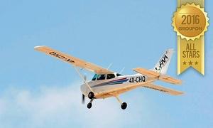 פ.נ. תעופה בע''מ - FNA: חוויית טייס ליום אחד + צילום HD במתנה, ליחיד ב-489 ₪ או ל-2 אנשים ב-969 ₪ בלבד! טיסה עם מדריך מנוסה וצילום וידאו מקצועי