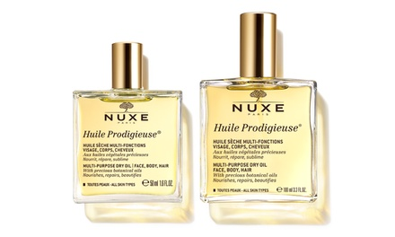 One or Two 50ml or 100ml of Nuxe Prodigieuse Dry Oils