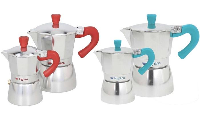 Caffettiere 3 tazze e una tazza