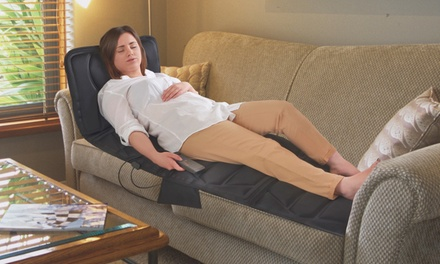 Wärmende Ganzkörper-Massagematte mit 5 Modi und 3 Intensitätsstufen : 40,98 €
