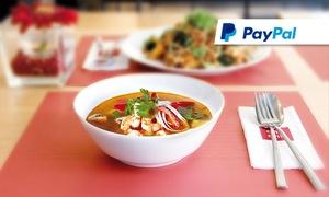 """cha cha Restaurant Alstertal: """"Thai Street Kitchen"""": 3-Gänge-Menü nach Wahl für zwei Personen im cha cha Restaurant Alstertal (35% sparen*)"""