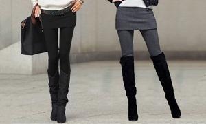 (Mode)  Legging jupe confortable tendance -42% réduction