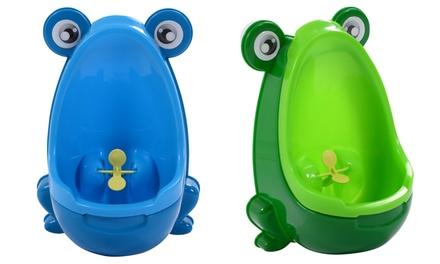 Children's Frog-Shaped Potty