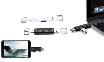 Multi-Functional Card Reader: One ($12) or Two ($16)