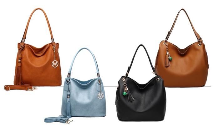 MKF Collection Divine Hobos Handbag by Mia K. Farrow
