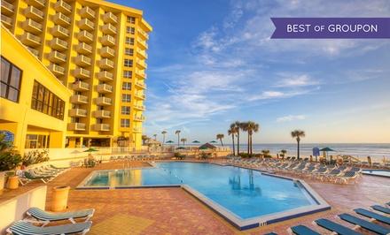 Stay at Plaza Ocean Club Hotel in Daytona Beach, FL. Dates into May.