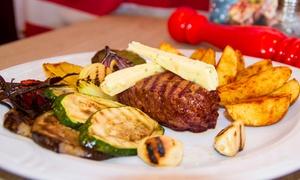 Jimmy's Steakhouse: Amerykańska uczta dla 2 osób od 69,99 zł i więcej opcji w Jimmy's Steakhouse w Toruniu (do -37%)