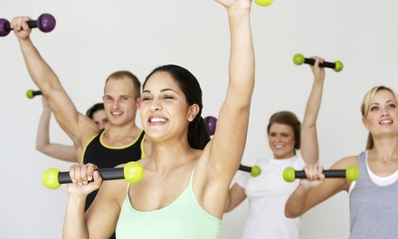 5 or 10 Drop-In Fitness Classes at Forever Health and Fitness GroupXTreme Classes (Up to 65% Off)
