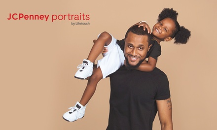 groupon.com - Photography Shoot Package with Optional 10″x20″ Canvas Print at JCPenney Portraits by Lifetouch (Up to 88%)