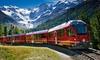 Frigerio Viaggi per bus tours - Più sedi: Bernina Express: bus e biglietto del treno tratta Tirano-St. Moritz per adulti, ragazzi e bambini con Frigerio Viaggi