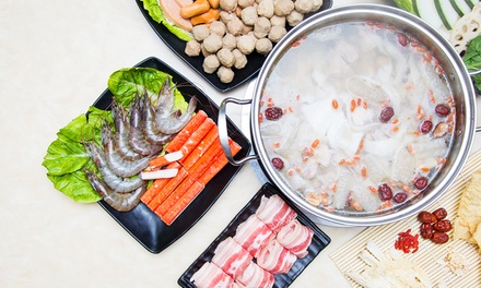 $18 for a Steamboat Buffet at VIP Soup (worth $31.68) near One North MRT. M...