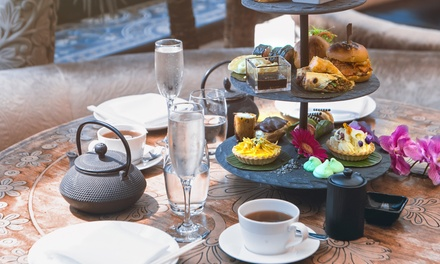 Asian Afternoon Tea with Prosecco