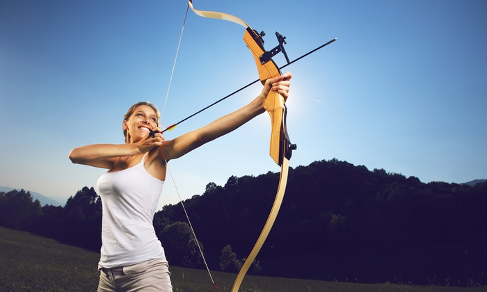 Ace Archers - Foxborough: One-Hour Archery Session with Equipment and Lane Rental for Two or Four at Ace Archers (Up to 45% Off)