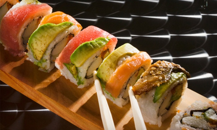 Sushi Boat Japanese Cuisine & Sushi Bar - St. Marys Hospital: Sushi and Japanese Cuisine for Up to Three or Four or More People at Sushi Boat Japanese Cuisine & Sushi Bar (Up to 52% Off)