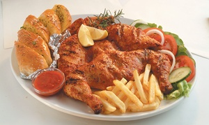 Kikis: Single Flame-Grilled Whole Chicken Family Meal from R75 at Kikis (50% Off)