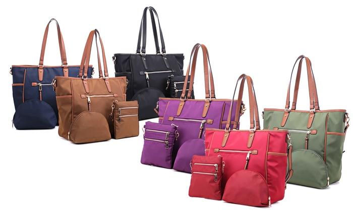 8f53a814a320 Up To 35% Off on MK Belted Handbag Set (3-Piece)   Groupon Goods