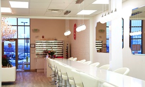 Gel Nails And Toes With Gel Removal Or A Quickie Mani-pedi At Glamour Gels Nail Bar (up To 46% Off)