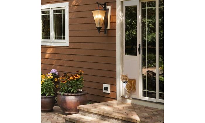 High Tech Pet Automatic Pet Doors Groupon