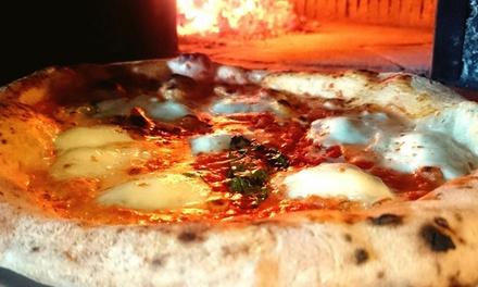 ⏰ Menu pizza Deluxe con birra