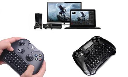 Wireless Keyboard für Xbox 360, Xbox One oder PlayStation 4 inkl. Versand  (16,90 €)