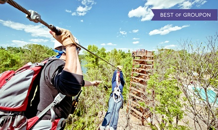 Zipline Canopy Tour up to 3 Hours Long for One or Two People from Canaan Zipline Canopy Tour (Up to 42% Off)