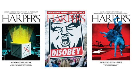 One-Year, 12-Issue Subscription To Harper's Magazine (Up to 25% Off) b1526669-60d2-4dba-a509-18161a40f4ee