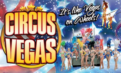 image for Circus Vegas UK, 20 April - 3 June, Four Locations (Up to 50% Off)