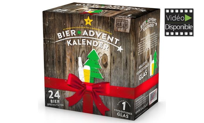 Calendriers de l'Avent et Box de 24 Bout. de Bière KALEA® dès 49,90€, (livraison offerte)