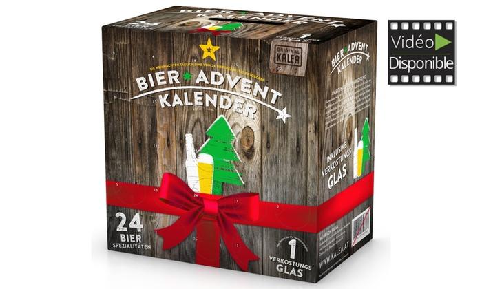 Calendriers de lAvent et Box de 24 Bout. de Bière KALEA® dès 4990€ (livraison offerte)
