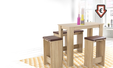 Et ChaisesDeals Ensemble Offres Lyon En Gain Place4 De Table OkP0n8w