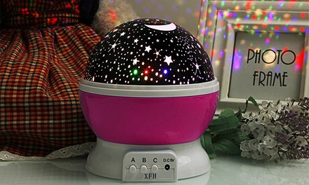 One or Two Nursery Night Light Star Projectors