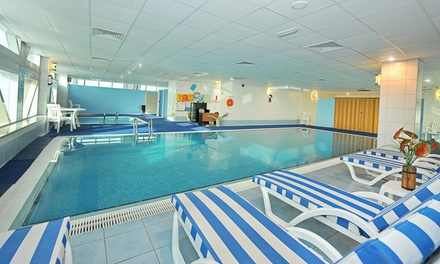 Gym, Swimming Pool and Fitness Class Pass with Free-Flowing Drinks at 1st Sport Clubs Management (Up to 62% Off)