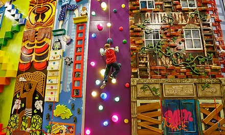 Indoor Climbing For Two Or Four Climbzone Usa Groupon