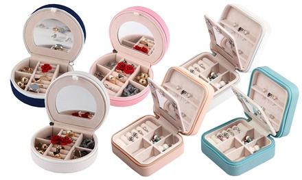 Mini Travel Jewelry Case and Organizer