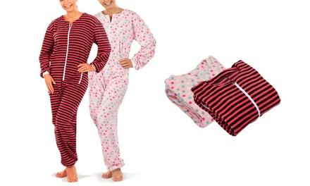 Pijama Onesie para mujer 100 % poliéster