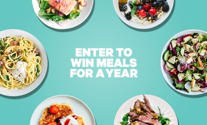 image for Enter to Win Meals for a Year at Groupon+ Restaurants – 50 Winners