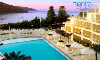 Central Coast: 1- or 2-Night Mantra Beach Stay