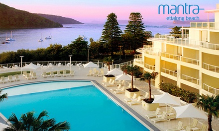 Central Coast: One- or Two-Night Beachfront Resort Getaway for Two with Late Check-Out at Mantra Ettalong Beach