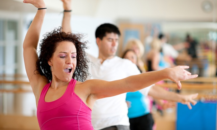 Zumba FitHappensNJ - Multiple Locations: 5, 10, or 15 Zumba or Kickboxing Classes at Zumba®FitHappensNJ (Up to 54% Off)