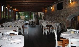 Ristorante L'Antica Posta (Gambassi Terme): Menu pizza con antipasto toscano, dolce e bibita per 2 o 4 persone da Ristorante L'Antica Posta (sconto fino a 65%)