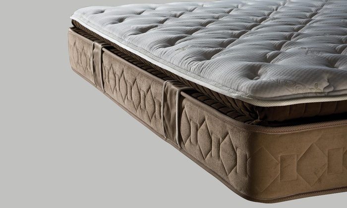 matelas ressorts ensach s sampur groupon. Black Bedroom Furniture Sets. Home Design Ideas