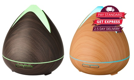 $39 for a PureSpa Ultrasonic Diffuser with a ThreePack of Essential Oils Don't Pay $129