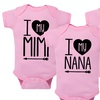 Infant I Love My Grandma Bodysuits