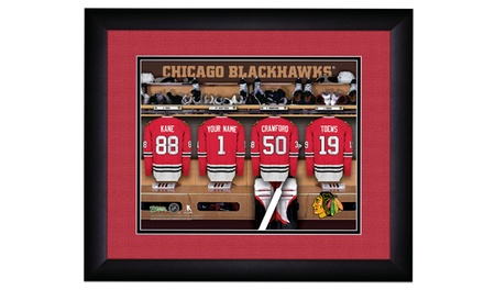 One Personalized Locker Room Print with Standard or Premium Frame from Prints That Rock (Up to 43% Off)