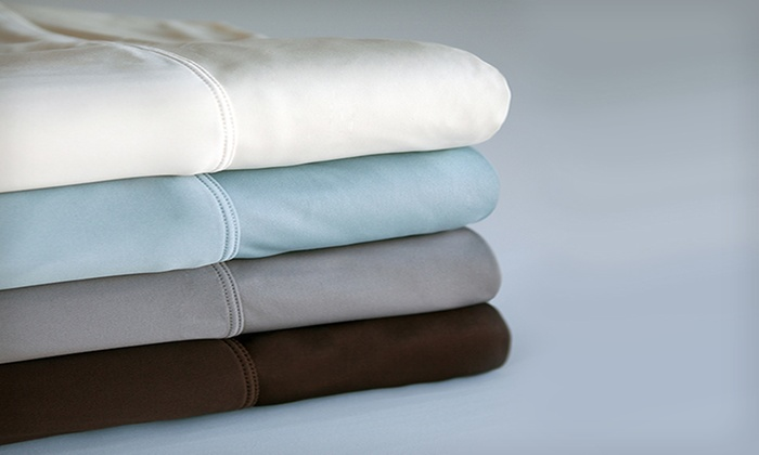 Rejuv by SHEEX Performance Sheet Set: Queen- or King-Size Rejuv by SHEEX Performance Sheet Set (Up to 64% Off). Four Colors Available.