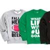 Football-Season Crewneck Sweatshirts
