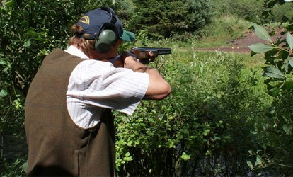 image for Clay Target Shooting Class for Beginners for One or Two at Ian and Gareth Butler Shooting School (Up to 60% Off)